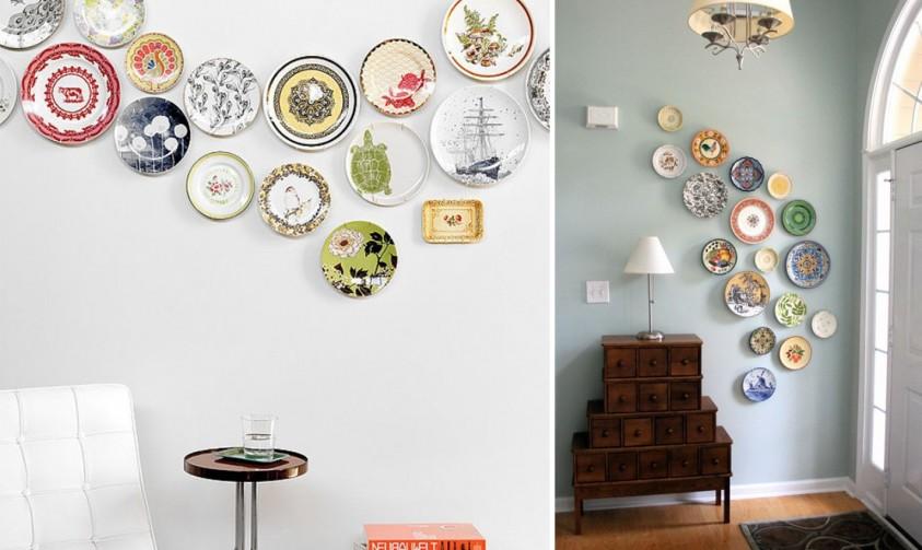 10 consigli per decorare una parete in modo alternativo - Decorazioni pareti fai da te ...