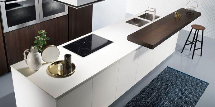 Piani cucina quale materiale scegliere rinnoviamo casa consulenza architettonica e - Piani cucina in corian ...
