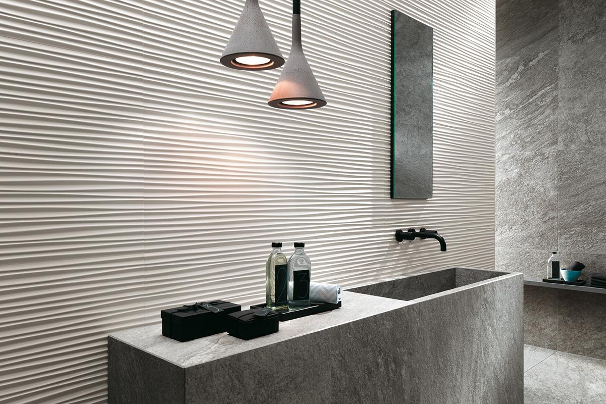 Rivestimenti bagno quali sono le mode del momento - Configuratore 3d bagno ...