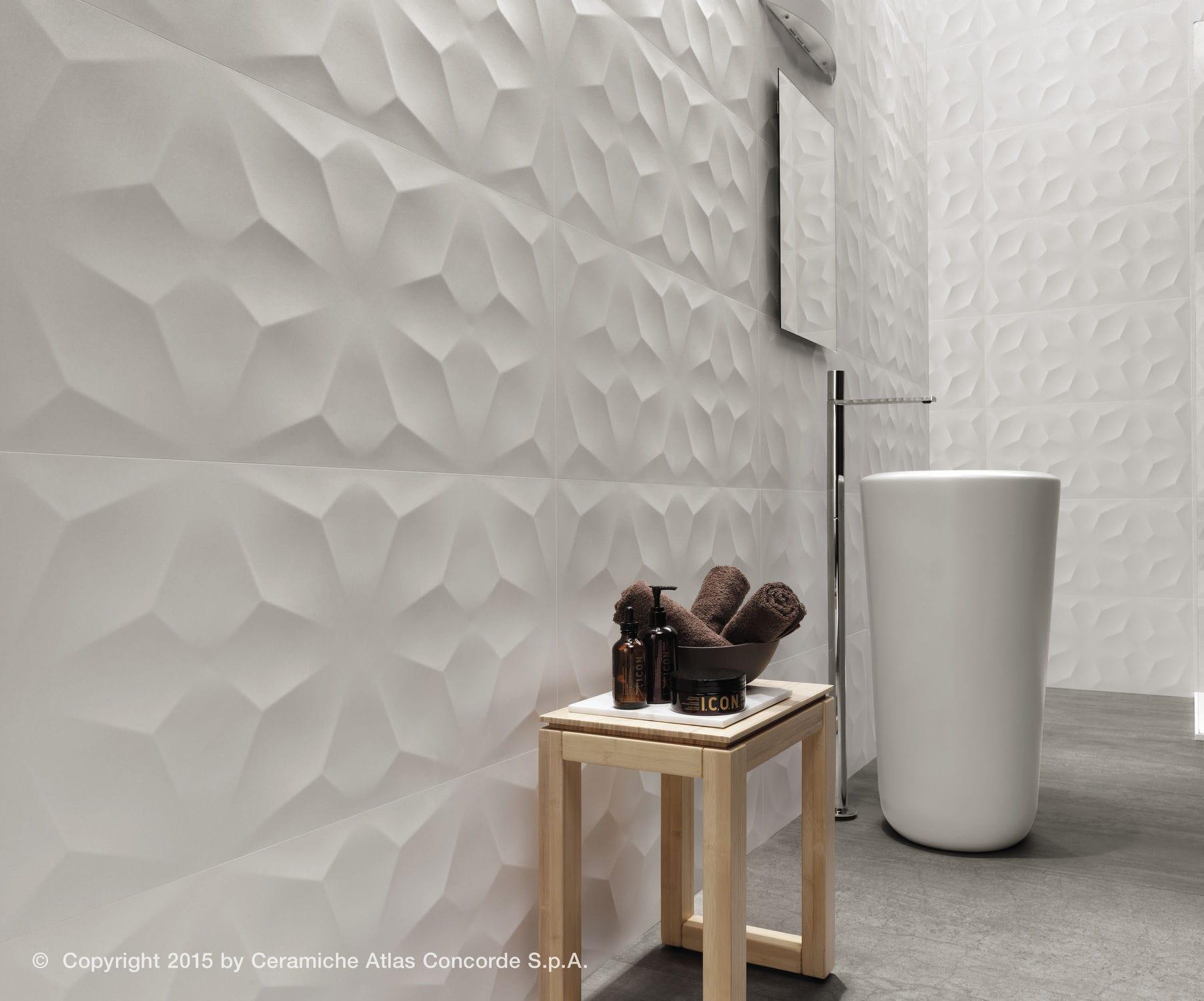 rivestimenti bagno quali sono le mode del momento. Black Bedroom Furniture Sets. Home Design Ideas