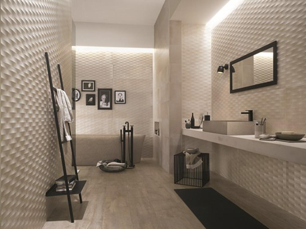 Rivestimenti bagno quali sono le mode del momento - Rivestimenti bagno iperceramica ...