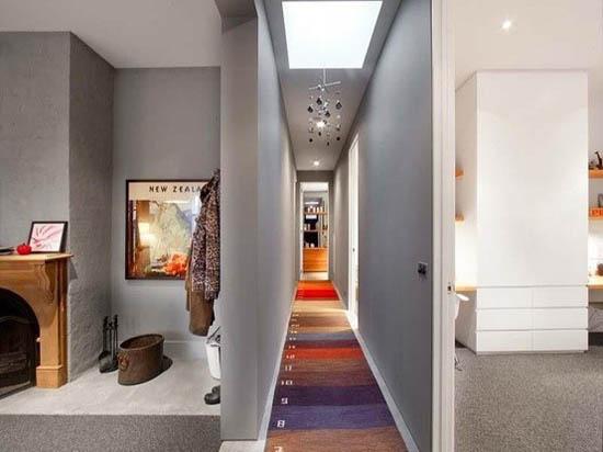 Corridoio da spazio inutile a punto focale della casa for Software di progettazione della pianta della casa