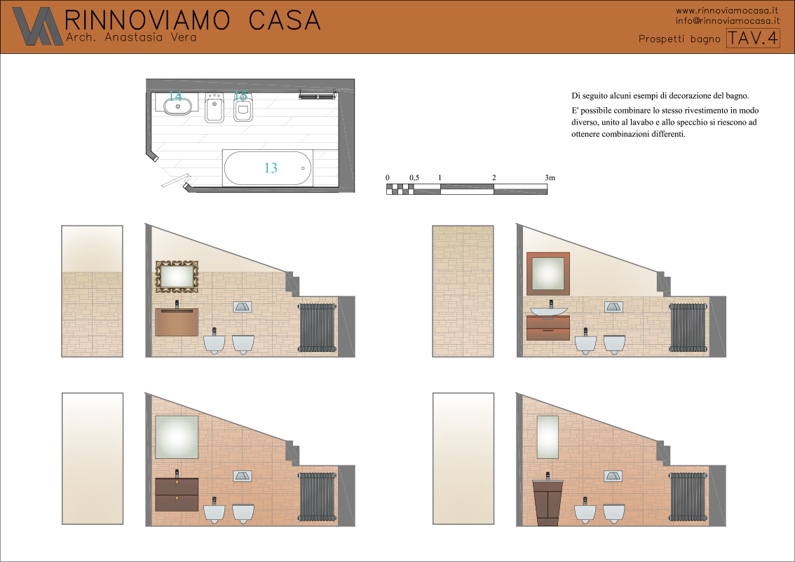 Amato Progetto su misura - Rinnoviamo Casa - Consulenza Architettonica e  CW27